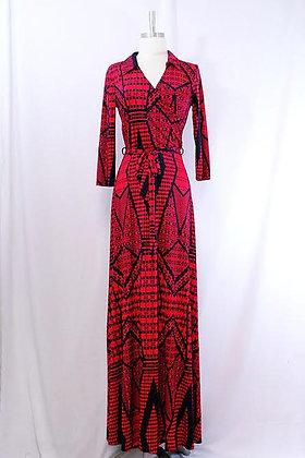 'Aztec' Maxi Dress