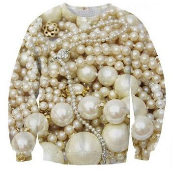 'Diamonds & Pearls' Sweater