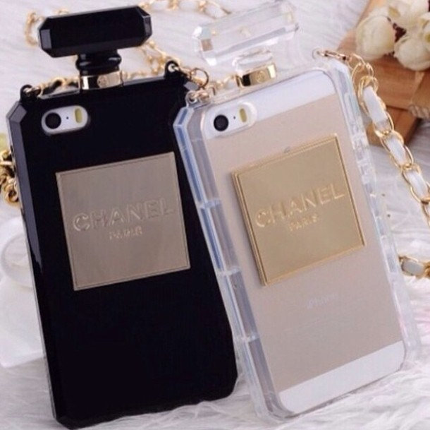 brand new 9a23e 533ae CHANEL Inspired iPhone Case