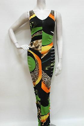 Exotic Side Slit Maxi Dress