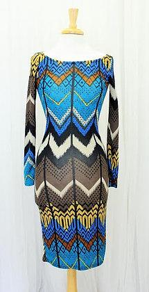 Blue Angle Dress
