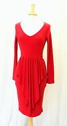 'Flirty' Red Dress