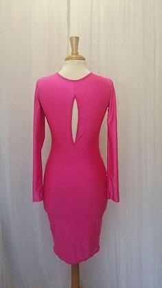 Hot Fuschia Pink Bodycon Dress