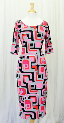 Pink Passion Dress-Plus