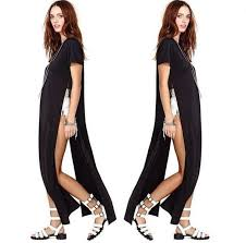 Side Slit Long Tee