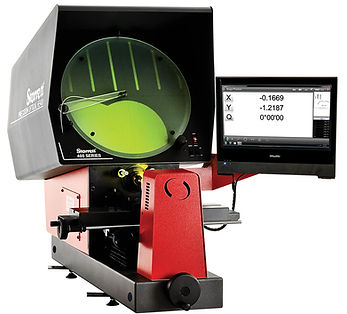 Starrett HE400 Horizontal Benchtop Optical Comparator