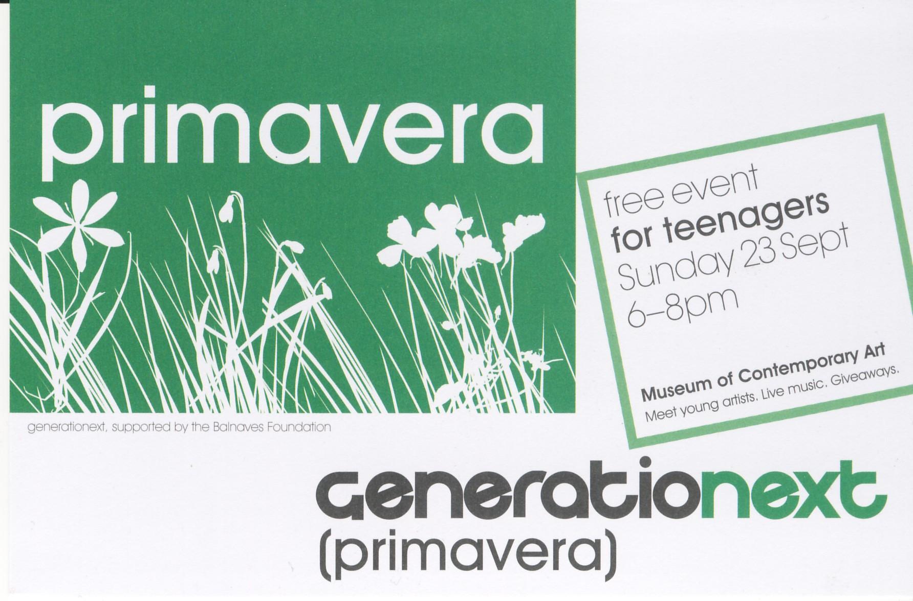Generationext: 23 Sept 2007
