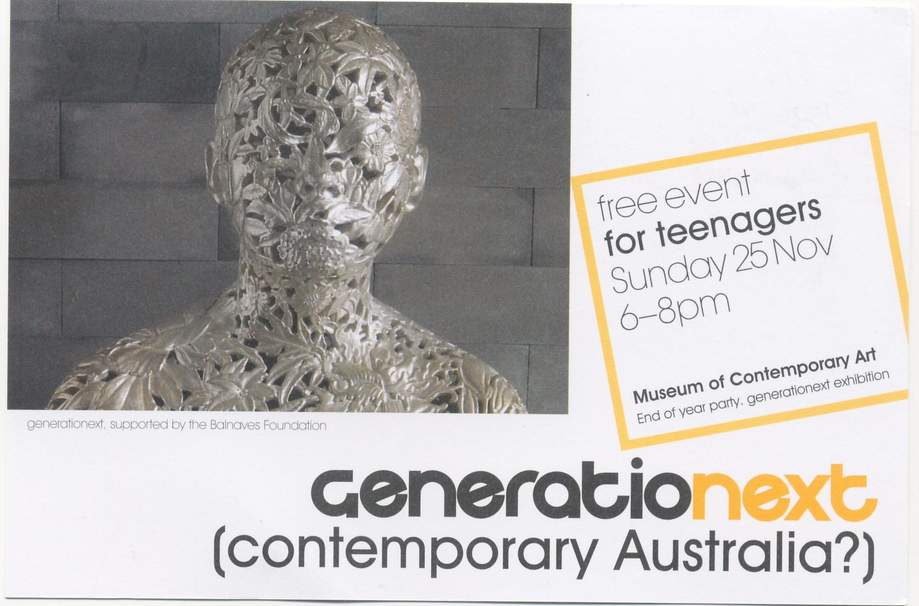 Generationext: 25 Nov 2007