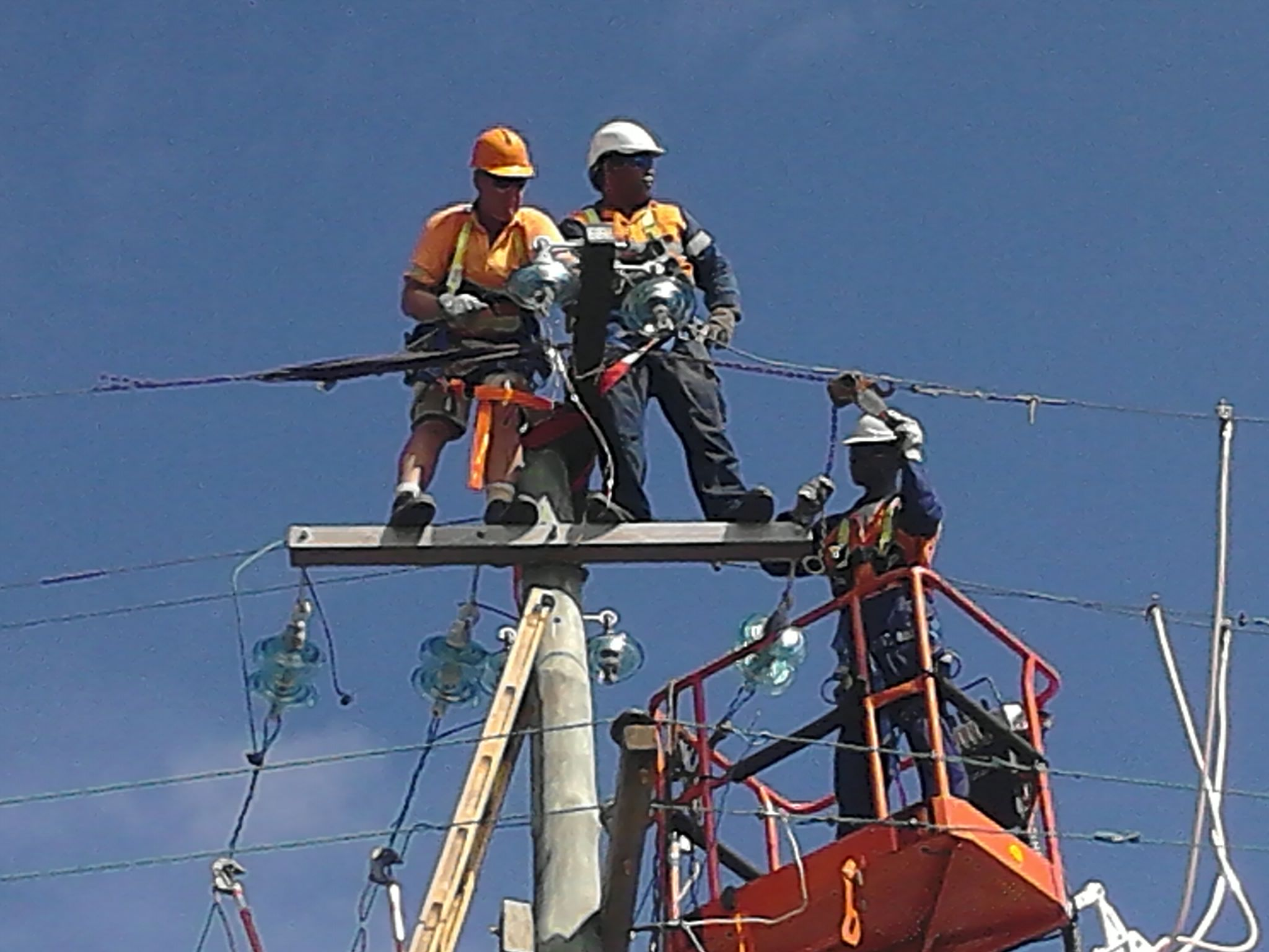 Power Poles Installation