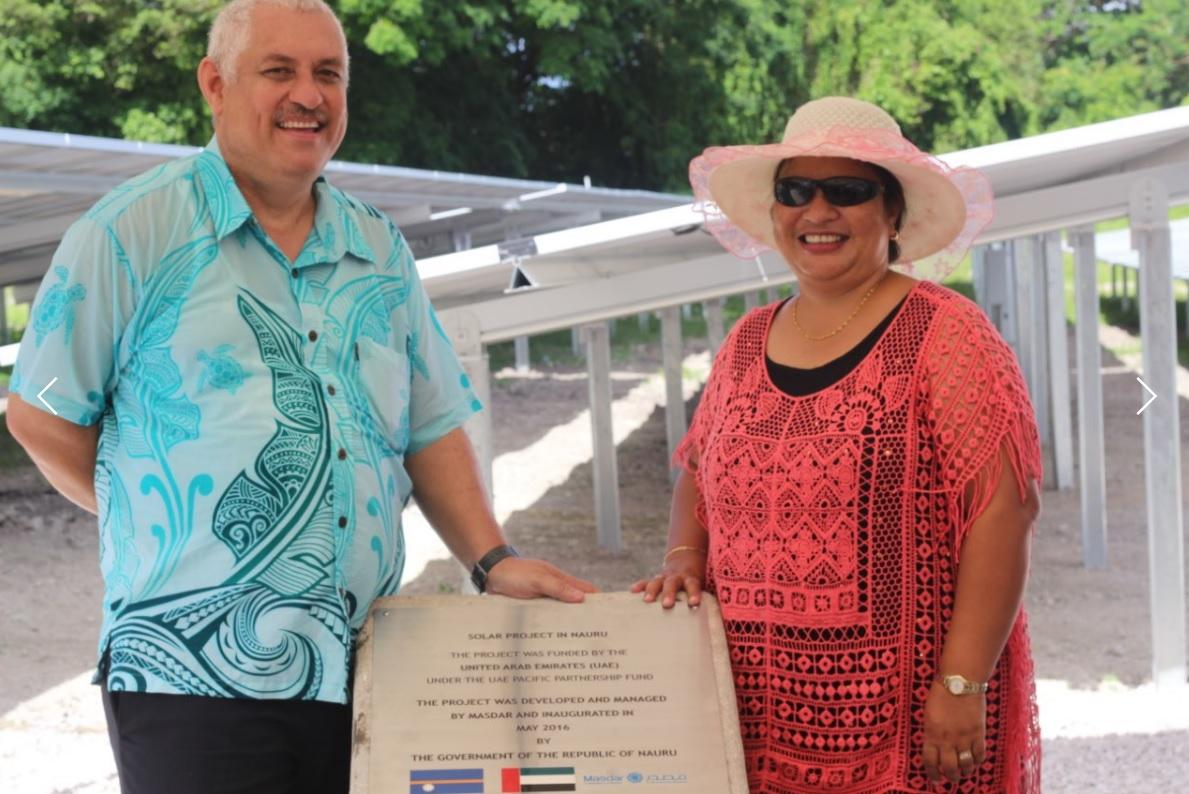 Bauda Solar Farm Opening