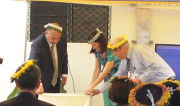 Unveiling of Plaque - Solar Farm.JPG