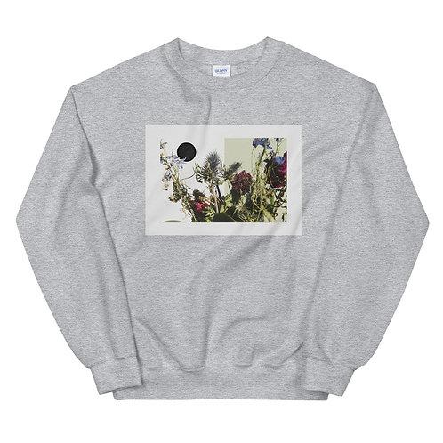 """Unisex Crew Neck Sweatshirt """"Floral Collage #1"""""""
