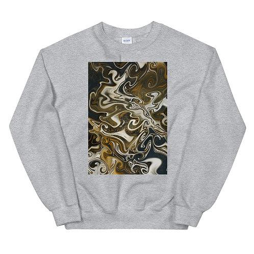 "Unisex Crew Neck Sweatshirt ""Marbling#10"""