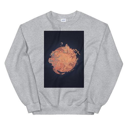 "Unisex Crew Neck Sweatshirt ""Marbling#14"""