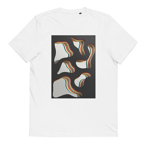 "Cotton T-Shirt ""Layers over Layers #4"""