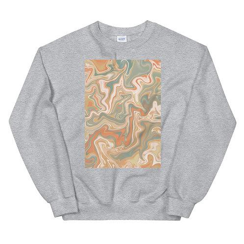 "Unisex Crew Neck Sweatshirt ""Marbling#15"""