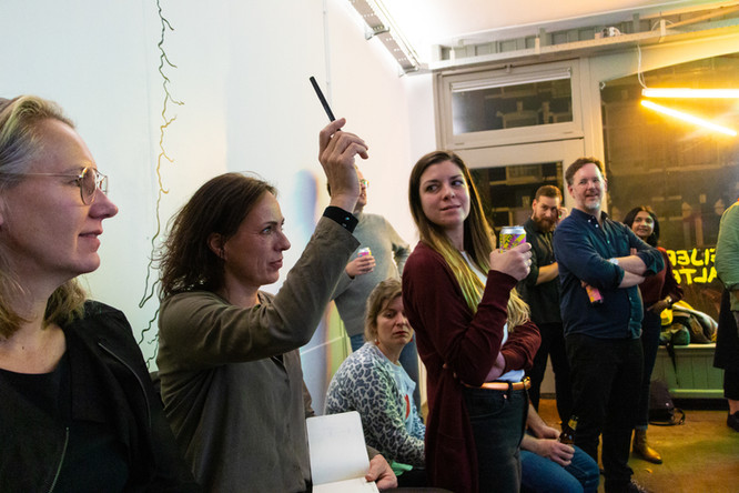 Awesome Foundation: Awesome Pitch Night Amsterdam