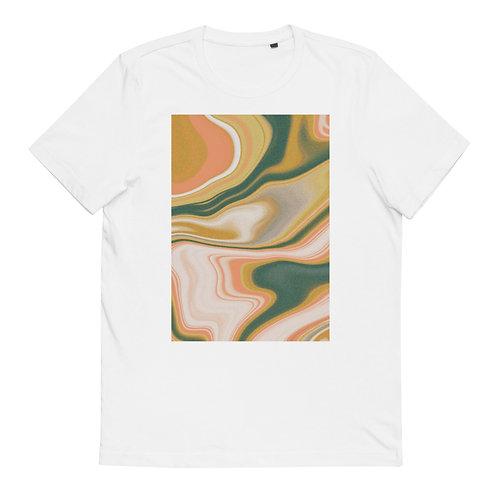 "Cotton T-Shirt ""Marbling #20"""