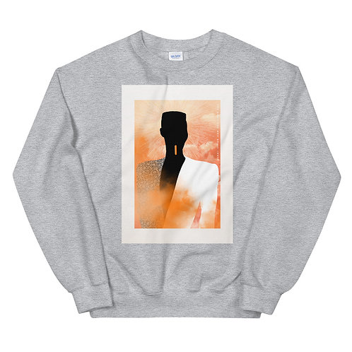 "Unisex Crew Neck Sweatshirt ""Grace Jones - Sunrise"""