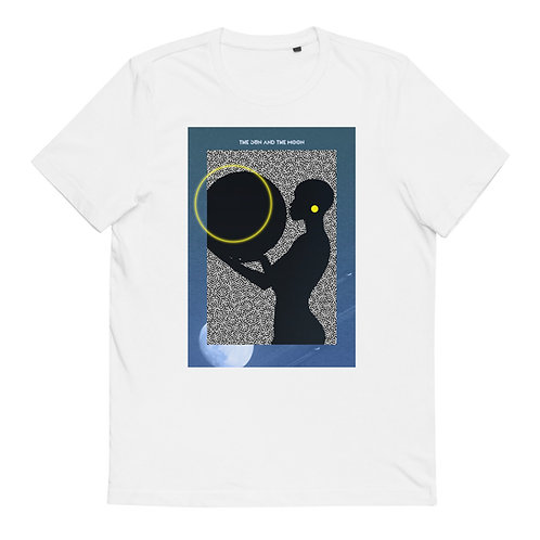 "Cotton T-Shirt ""The sun and the moon"""