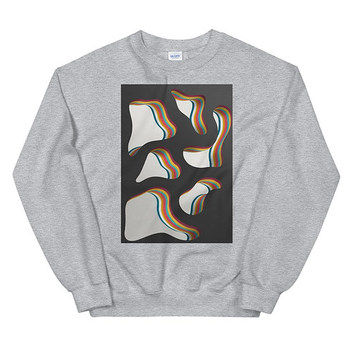 "Unisex Crew Neck Sweatshirt ""Layers over layers #4"""