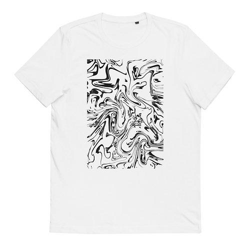 "Cotton T-Shirt ""Marbling #5"""