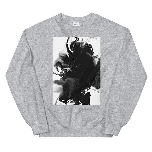 "Unisex Crew Neck Sweatshirt ""Marbling#2"""