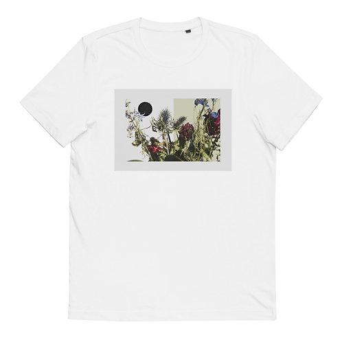 """Cotton T-Shirt """"Floral Collage #1"""""""