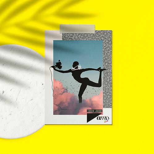Postcard Grace Jones Sky High