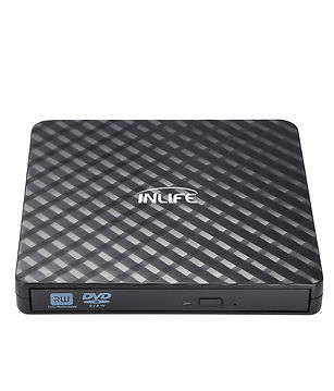 Inlife BT669 External Optical Disc Drive Portable USB 3.0 ODD DVD Recorder