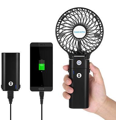 Mini Hand-held Rechargeable Fan
