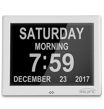 Inlife DDC - 8002J 7 inch Multipurpose Digital Calendar Clock