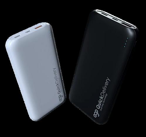 EGO Power bank 10000mAh, Fast charging Type-C,PD 18W , QC 3.0
