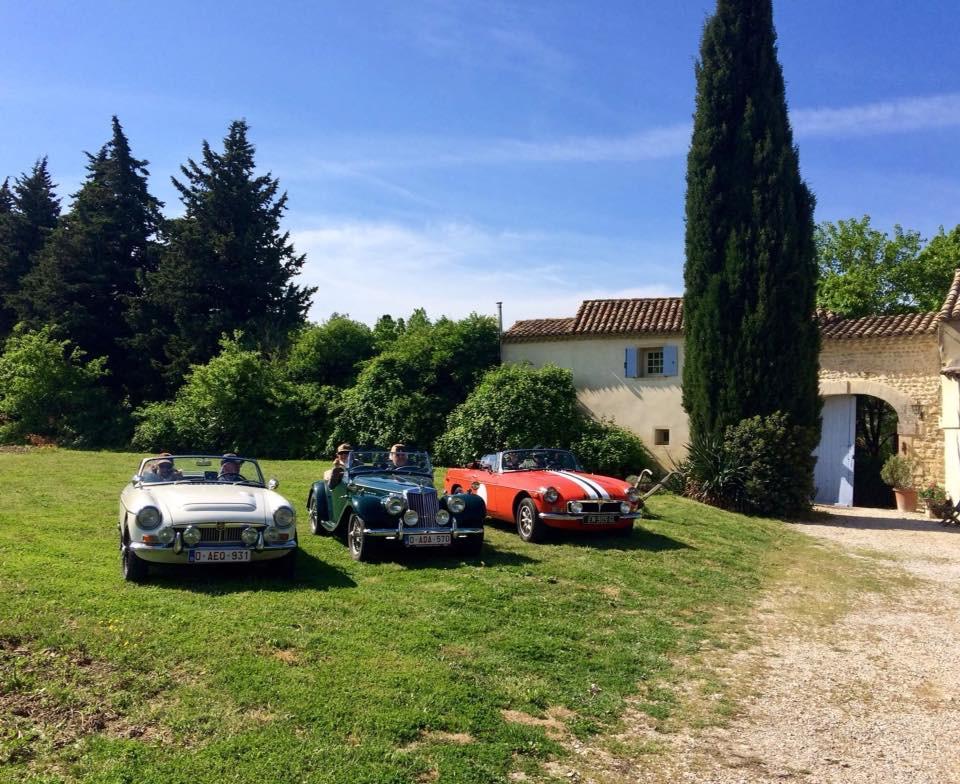 MGB https://www.visanlaplantade.eu/post/oldtimerstourslaplantadeprovence Nice cars, nice company, nice tours, beautiful landscape, professional guide Luc Vermeersch