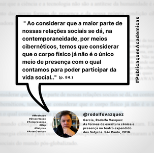 #PublicaçoesAcademicas