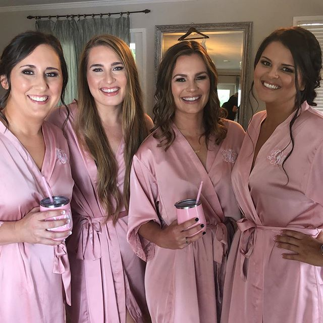 Bridesmaids ❣️❣️_-_-_-_-_#makeupartist #