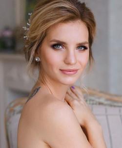 Bridal makeup ♥️💄 •Liner (water line)-C