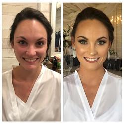 Wedding makeup for this beauty queen! Su