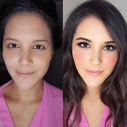 Makeup for some headshots! ❤_._._._