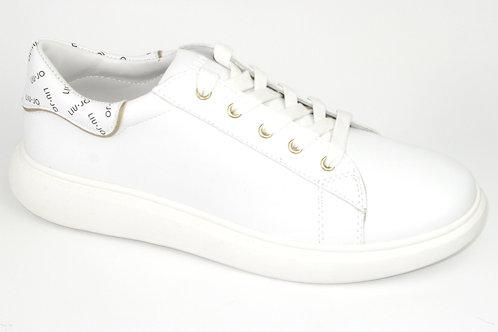LIU JO/greta97/sneaker wit acc liu jo op hiel