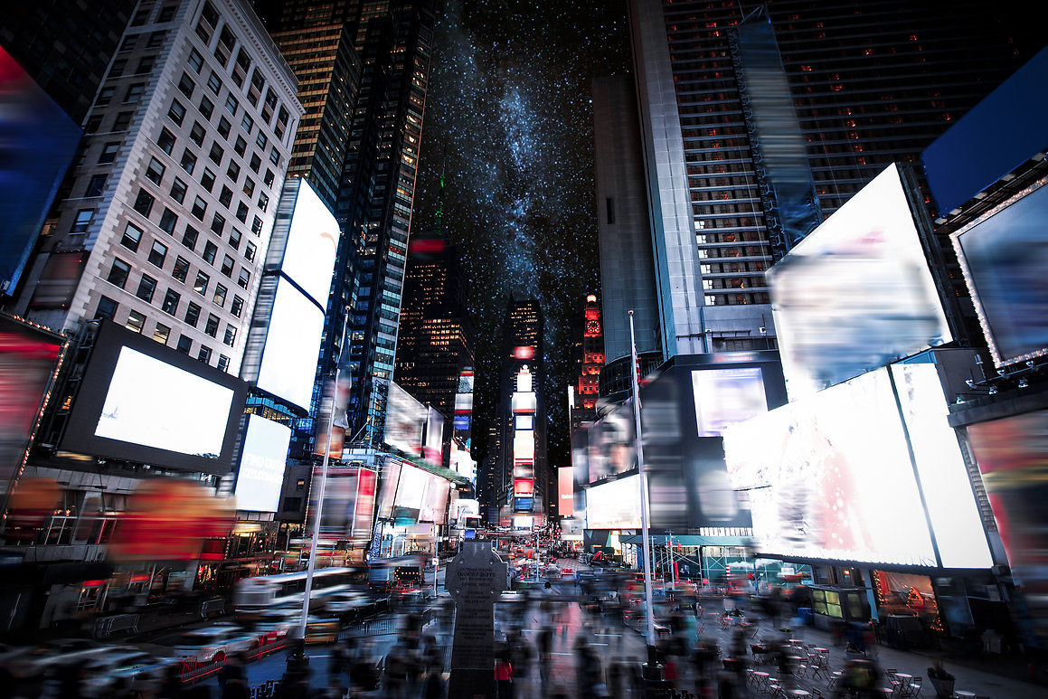 Times Square Manhattan New York all the