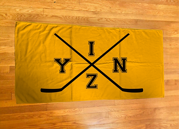 Yinz Printed Hockey Towel
