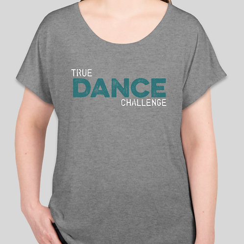 TDC Adult Crew Neck Loose Fit T-Shirt