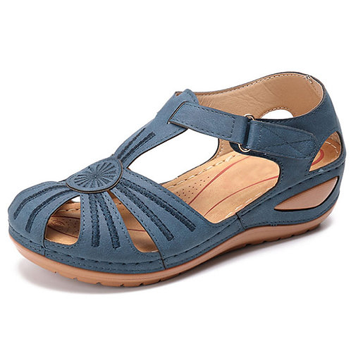 Women Sandals Summer Shoes  Soft Bottom Wedges Platform Gladiator
