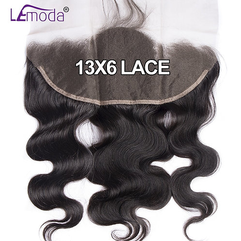13x6 Body Wave Lace Frontal Closure Remy Human