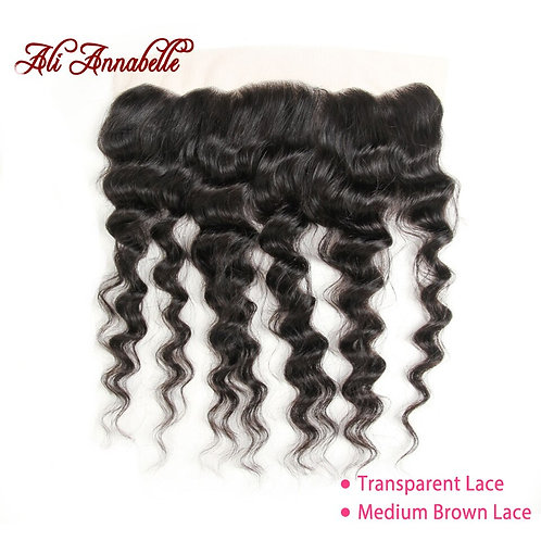 Brazilain Loose Wave 13*4 Lace Frontal Remy