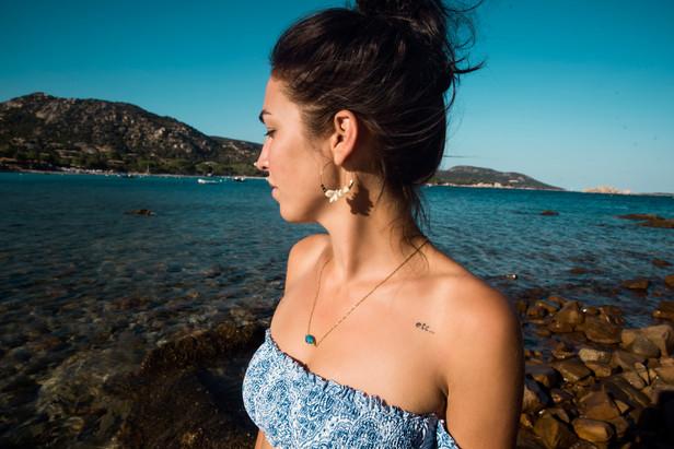 Séance portrait avec Chloé en Corse