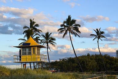 landscape Surfer paradise, Golden coastAustralia