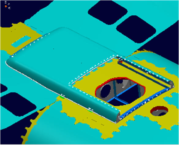 DESIGN OF A HULL AND CARBON FIBER HATCH