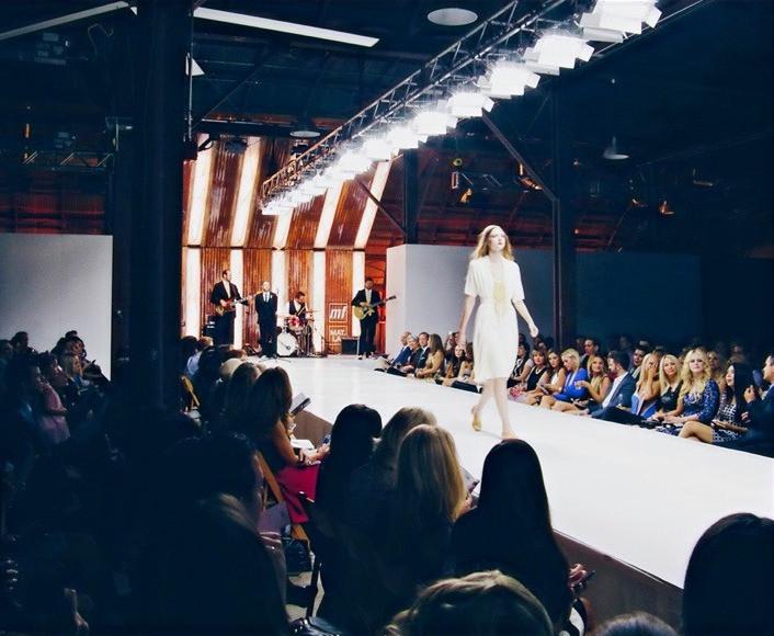 high beam fashion show